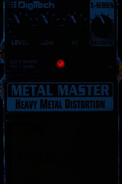 Digitech Metal Master Heavy Metal Distortion