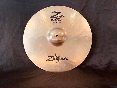 "Zildjian Z Custom 18"" Rock Crash"