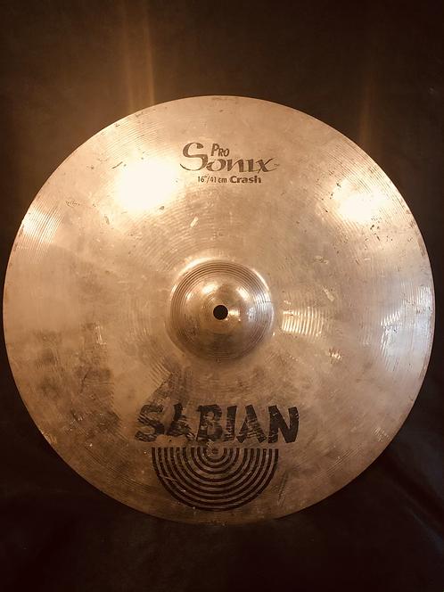 "Sabian Pro Sonix 16"" Crash"