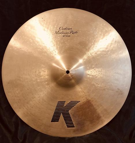 "Zildjian K Custom 20"" Medium Ride"