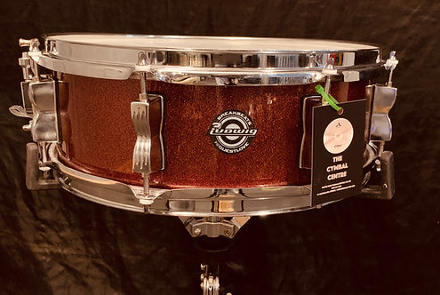 Ludwig Breakbeat by Questlove Red Sparkle 14 x 5
