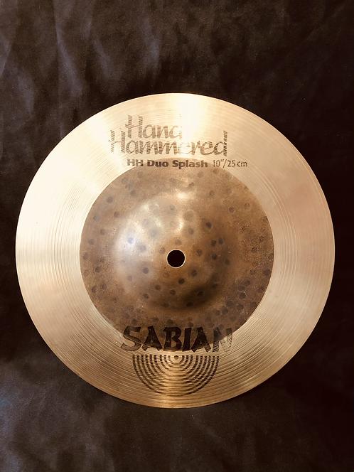 "Sabian HH 10"" Duo Splash"