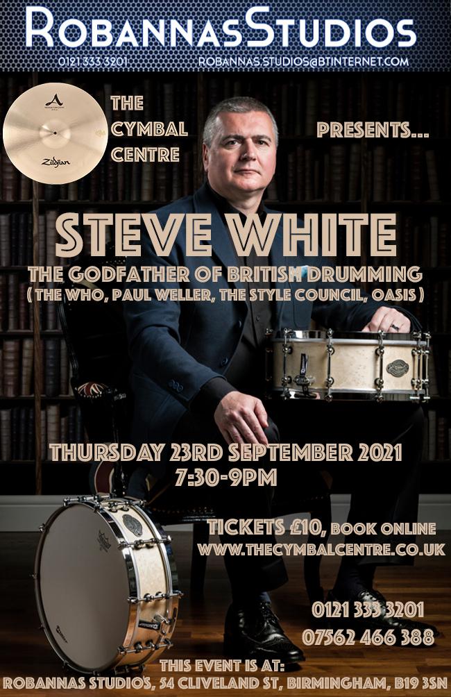 Steve White Drum Clinic 23/9/21