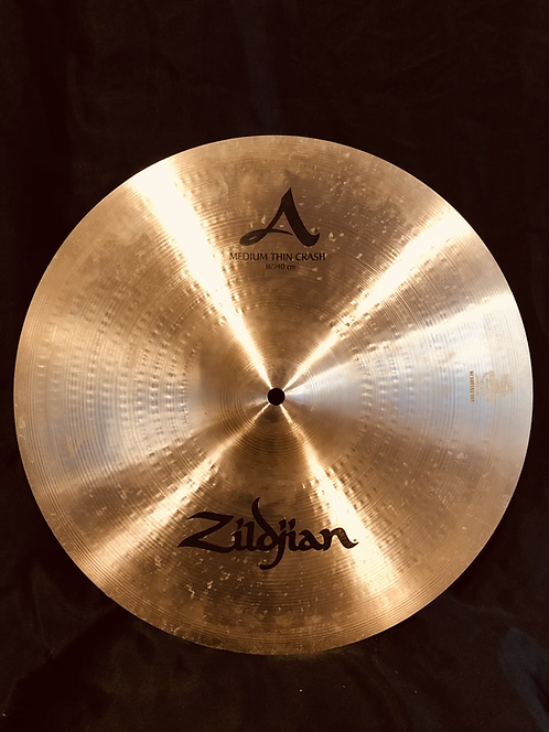 """Zildjian Avedis 16"""" Medium Thin Crash Regular"""