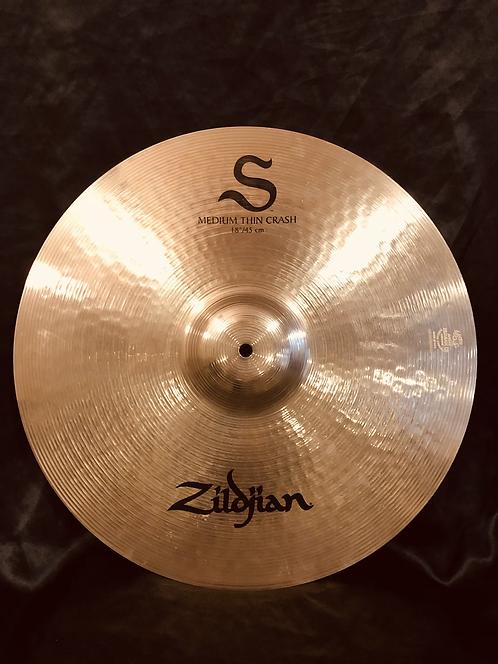 "Zildjian S series 18"" Medium Thin Crash"