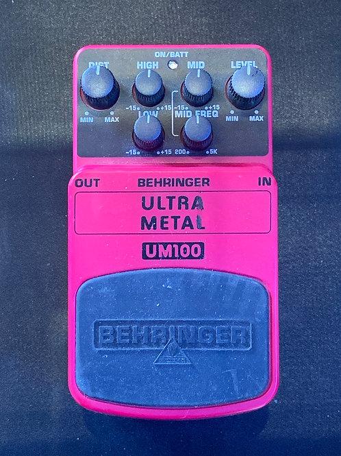 Behringer UM300 Ultra Metal Distortion