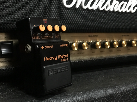 THE SORT AFTER BOSS HM-2 HEAVY METAL HAS HIT USED FX PEDALS!