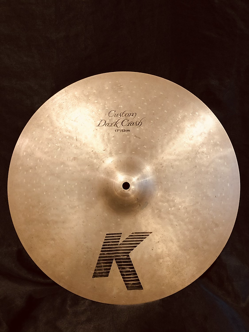 "Zildjian K Custom 17"" Dark Crash"