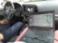ГБО Hyundai   Настройка системы BRC