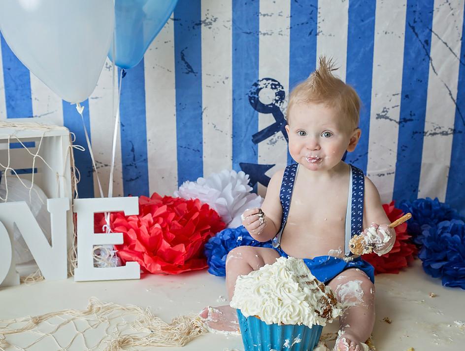 Lewiston ID cake smash photographer