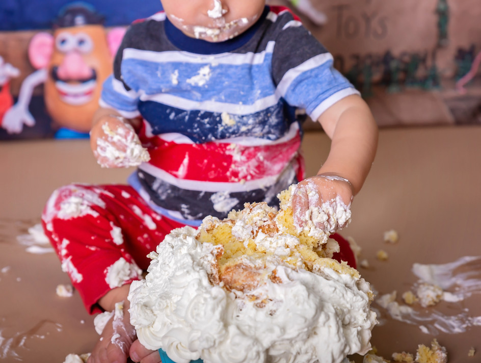 Pullman WA cake smash pictures