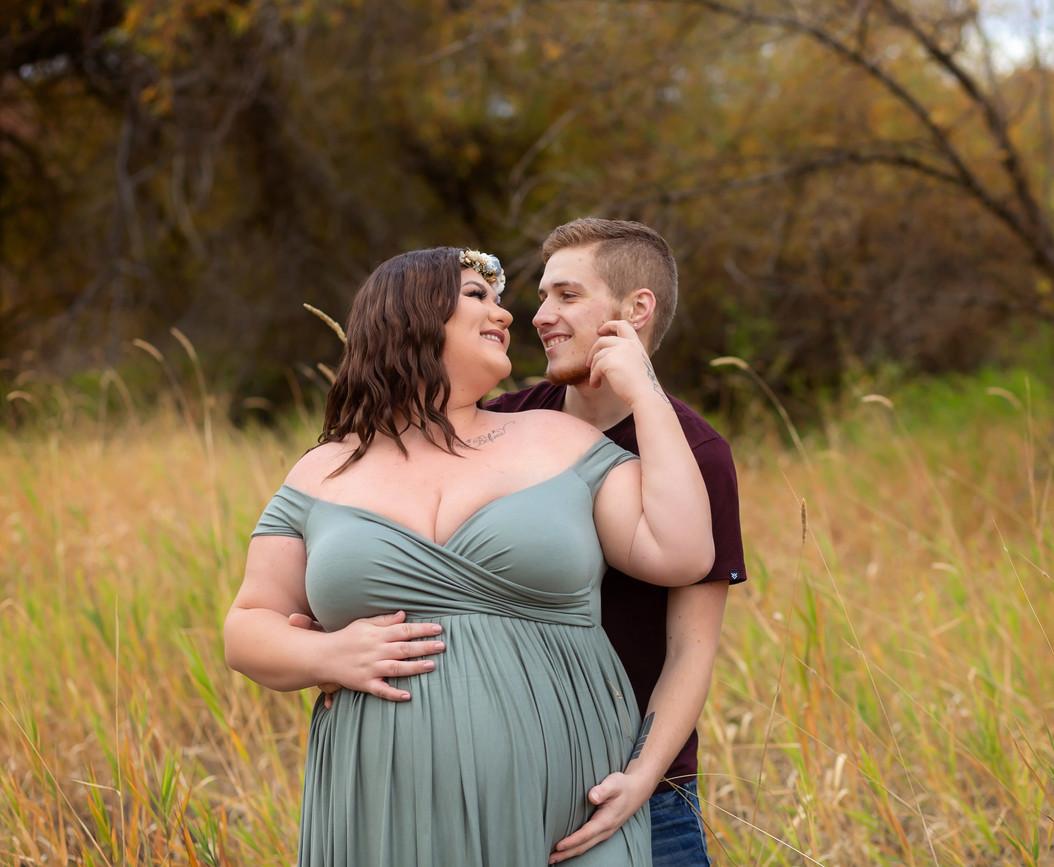 Pullman Washington maternity photographe