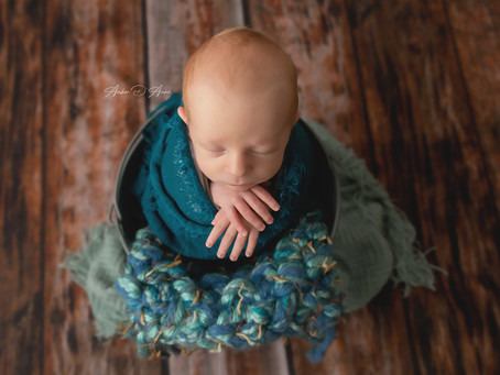 Meet Baby Shannon | Moscow Idaho Newborn Photographer