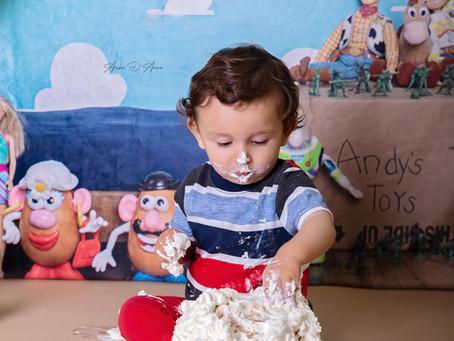 Cyrus turns one! | Moscow Idaho Cake Smash Photographer