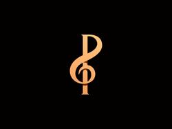 P letter + Treble Clef