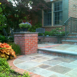 Front Entry w/Patio