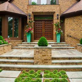 Flagstone w/ Garden Accents
