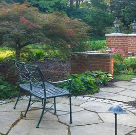 Patio & Garden w/ Masonry Walls