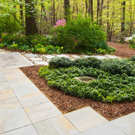 Flagstone and Landscaping