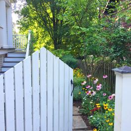 Back Yard Garden & Fencing