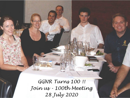Time Flies when you're having fun - GGNR Turns 100 - Meeting Notes - 14 July 2020 - Meeting # 99