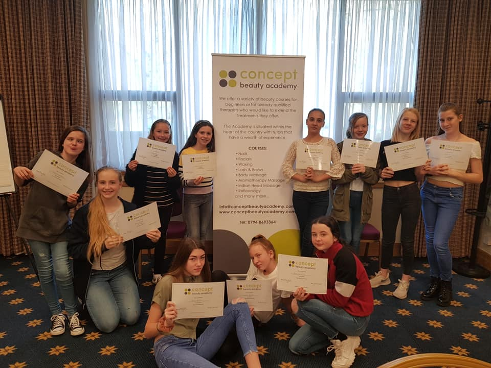Teen's Skincare Workshop group