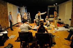Moonfleece rehearsal process