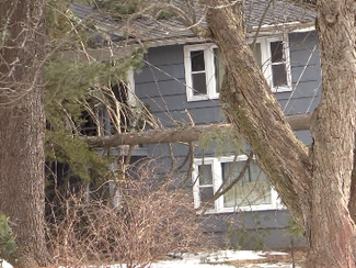 High Winds Send Tree Into Marlborough Home