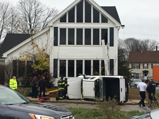 Failure to Yield Leads To Rollover Crash In Marlborough