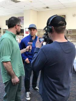 Matt Interviewing _ Hero's Cup