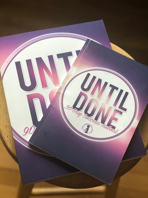 Until Done Journal (6x9)