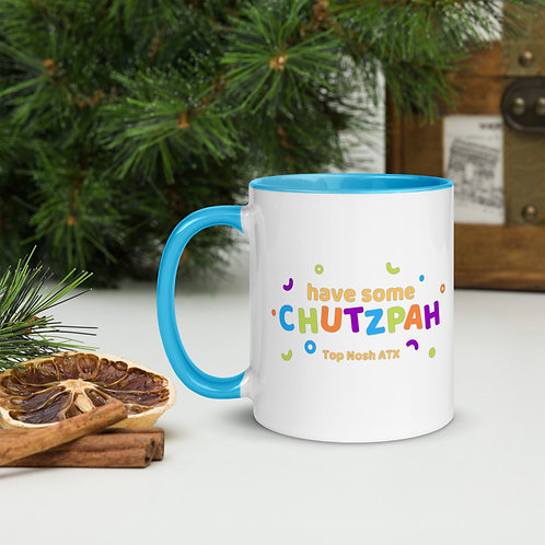 Chutzpah Color Mug