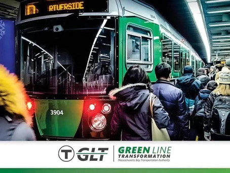 MBTA green Line will be shut down for a one month at a time this year!