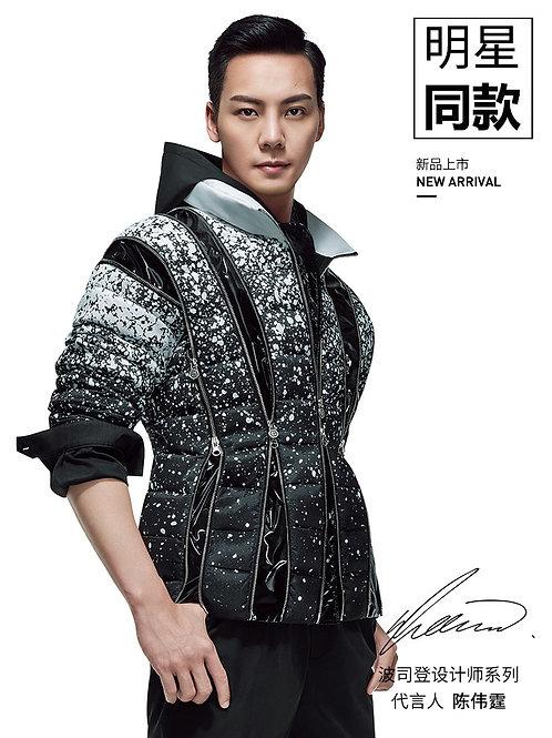 【波司登X高缇耶】2020设计师联名秀款陈伟霆同款B00146216