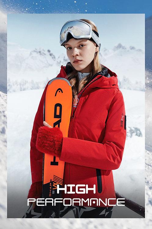 【滑雪系列】女款假两件防风保暖B00142106