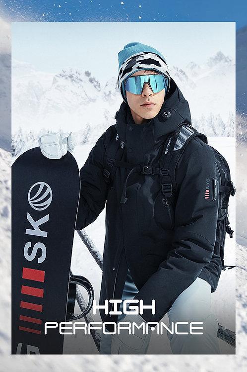 【滑雪系列】男款鹅绒加厚保暖外套B00142107