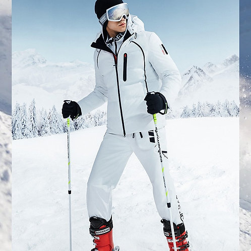 【滑雪系列】男款抗寒保暖加厚鹅绒羽绒防风B00142101