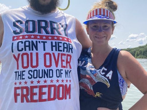 For 4th of July, We Have Proudly Donated These Shirts to Louisville's Deaf and Hard of Hearing