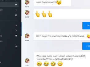 Coworkers Use of Emojis to Mask Passive Aggression Becoming More Transparent