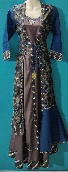 Fancy Anarkali Kurti with jacket