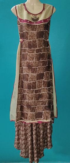 Long jacket style Kurti