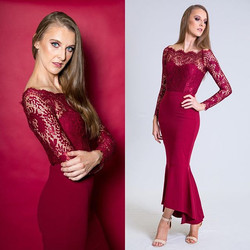 In love with this _misshollythelabel gown featured in my recent photo shoot with _countrygirlmanagem