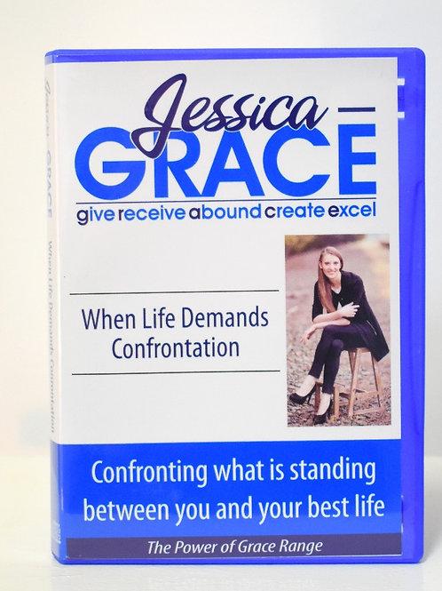 When Life Demands Confrontation (Audio CD)