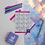 Thumbnail: Colour Your Own English Bulldog Planner Sticker Sheet