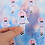 Thumbnail: Kawaii Girl Die Cut Sticker Glossy