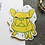Thumbnail: Yellow Yoyo the French Bulldog Frenchie Matt Sticker