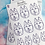 Thumbnail: Colour Your Own Husky Planner Sticker Sheet