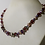 Thumbnail: Purple Beaded and Pearl Necklace