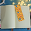 Thumbnail: Halloween Sweets Yellow Glossy Bookmark
