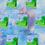 Thumbnail: Kawaii Spring Scene Die Cut Sticker Glossy